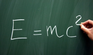 e mc2 300x179 Einstein Was Not A Scientist